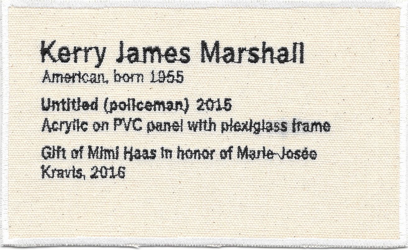 Permanent Collection Canvas Patch: Kerry James Marshall
