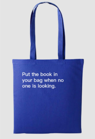 How To Shoplift Books Tote