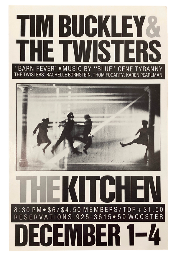 Barn Fever, December 1-4, 1983 [The Kitchen Posters]