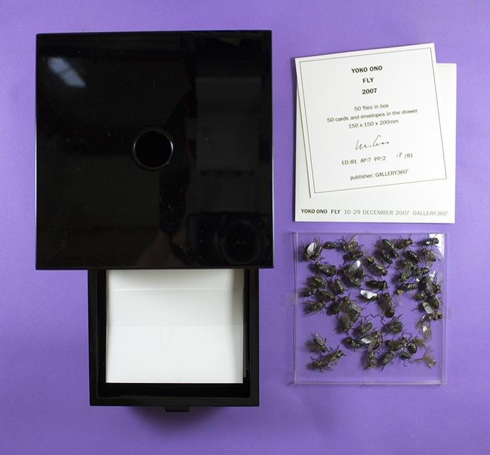 Yoko Ono Fly Printed Matter