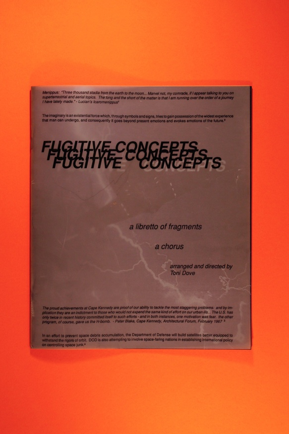 Fugitive Concepts : A Libretto Of Fragments : A Chorus thumbnail 2