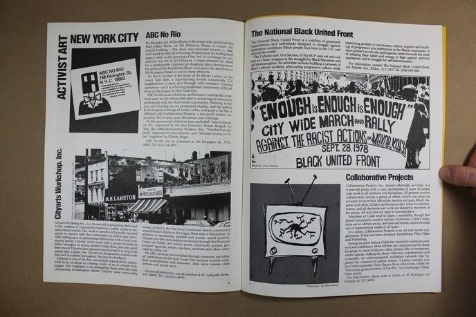 Upfront : A Political Art Documentation / Distribution thumbnail 3