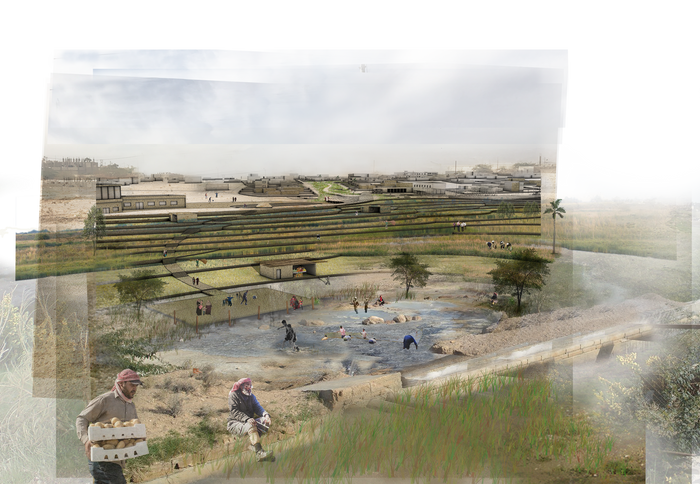Water urbanism amman columbia gsapp terranced farm1g fandeluxe Image collections