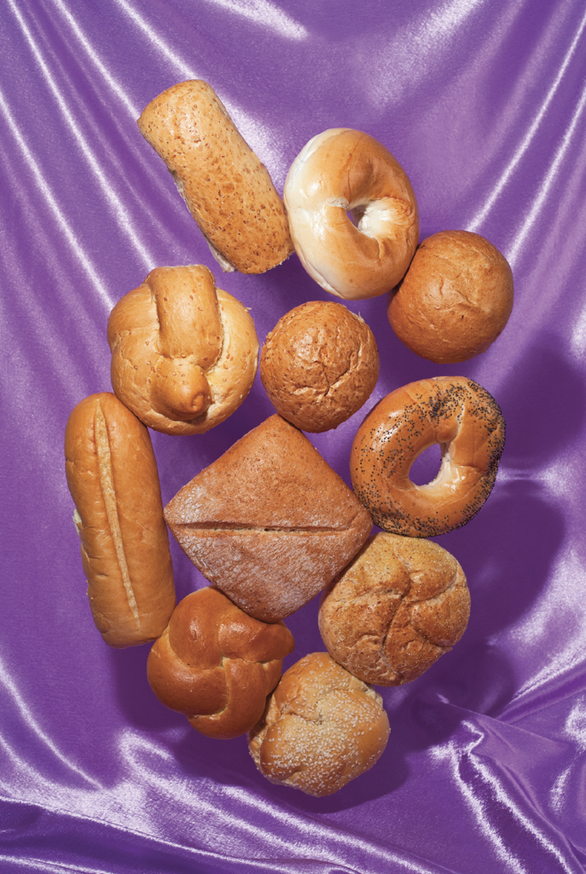 Bread Net Postcard