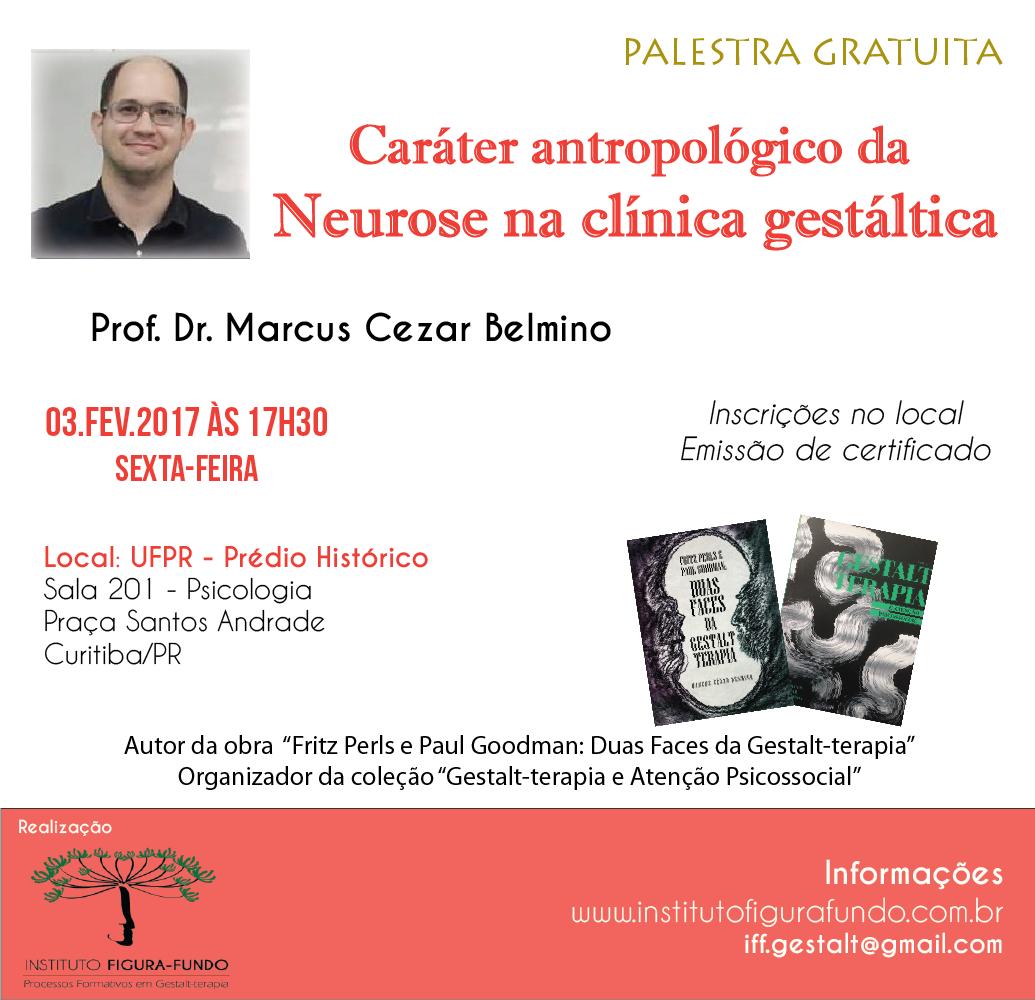 Palestra - Caráter antropológico da neurose na clínica gestáltica