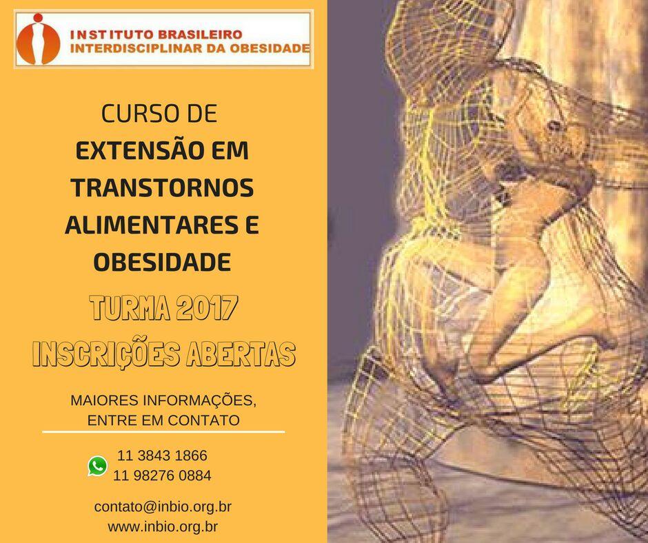 Curso de Extensão: PSICOLOGIA EM CIRURGIA BARIATRICA METABOLICA E TRANSTORNOS  ALIMENTARES
