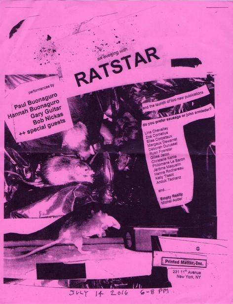 An evening with RATSTAR press