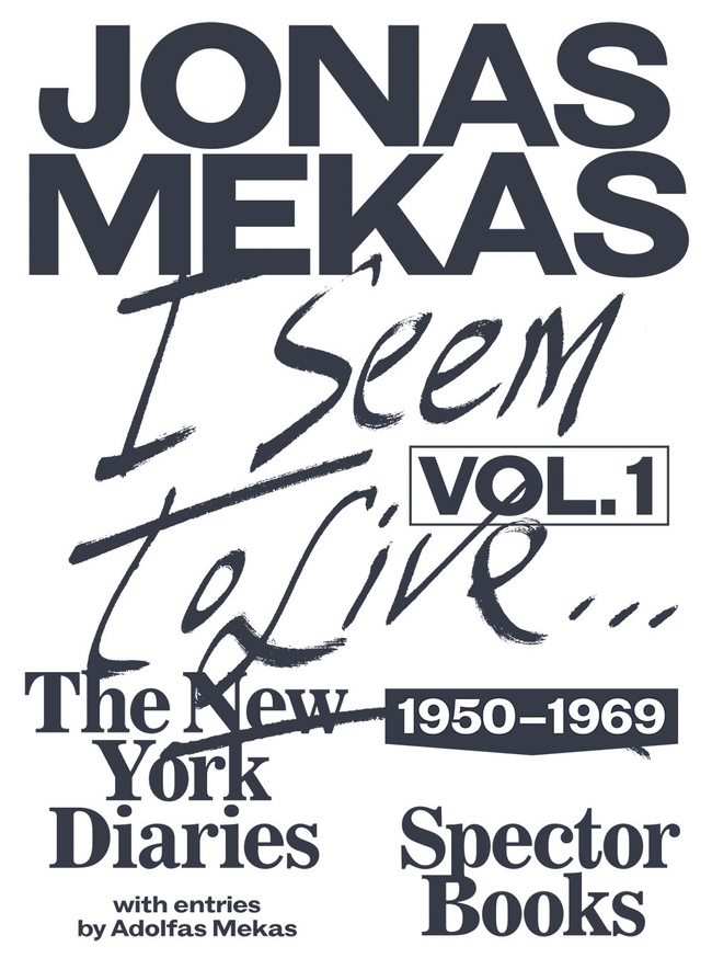 I Seem to Live: The New York Diaries 1950-1969, Vol. 1