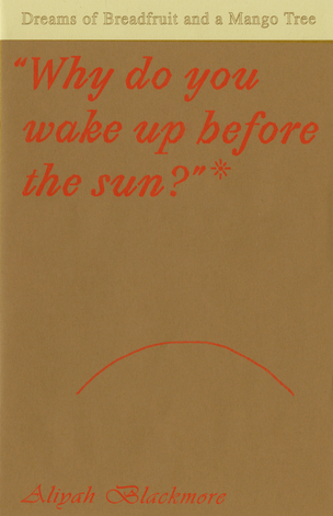 Why do you wake up before the sun?