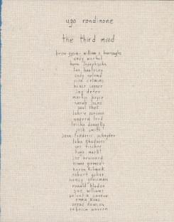Ugo Rondinone: The Third Mind
