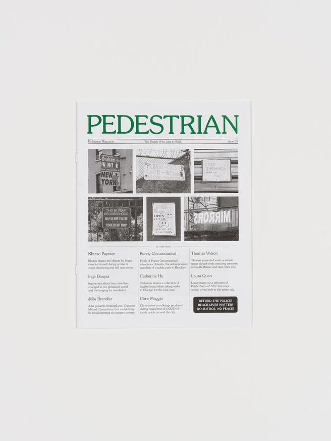Pedestrian Magazine #5 thumbnail 5