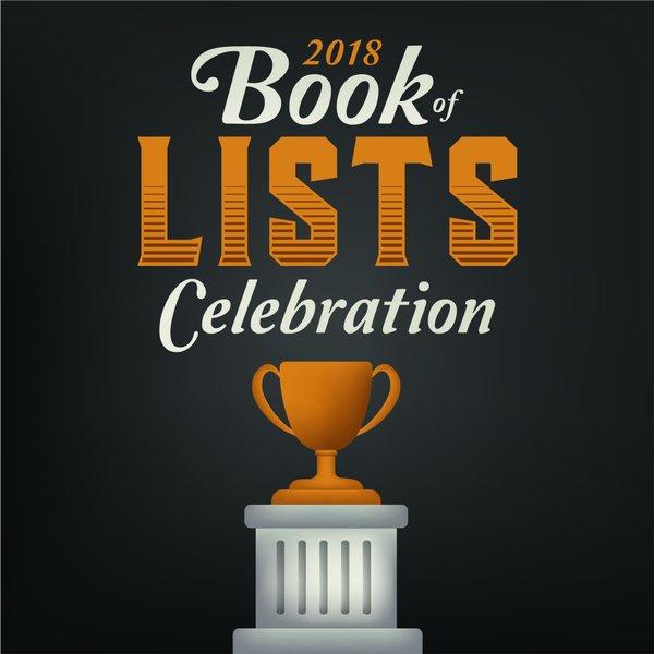2018 Book of Lists Celebration
