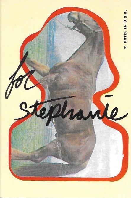 For Stephanie