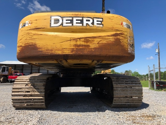 Used 2008 John Deere 350DLC w/ Shear For Sale
