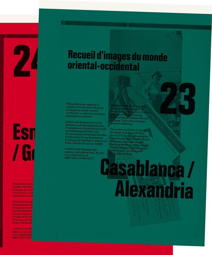 Recueil 23/24 (Set 2) – Casablanca/Alexandria // Esna/Luxor/Gourna