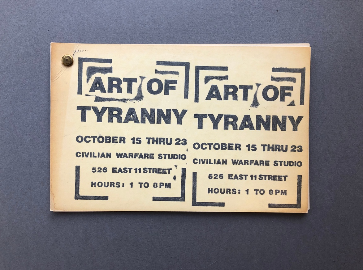 Art of Tyranny