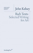 Rich Texts: Selected Writing for Art