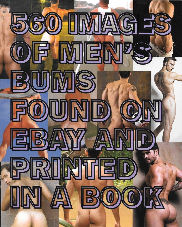 560 Images of Men's Bums Found on eBay and Printed in a Book