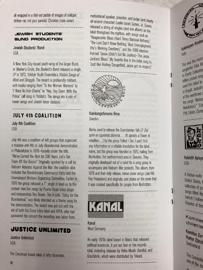 An Encyclopedia of Political Record Labels Bonus Tracks thumbnail 3
