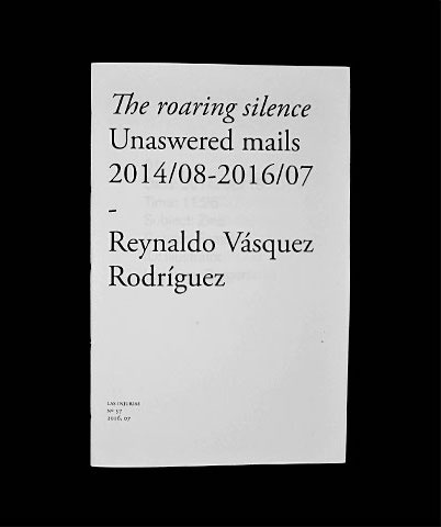 The roaring silence: Unsanswered mails 2014/08–2016/07
