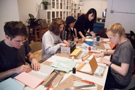 Bookmaking Workshop at St Marks