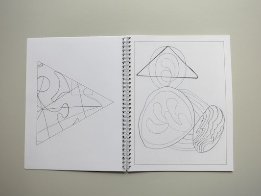 Drawing Hilma Af Klint : A  Coloring Book Influenced by the Work of Hilma Af Klint thumbnail 4
