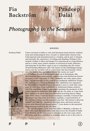 Photography in the Sensorium