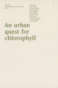 An Urban Quest for Chlorophyll