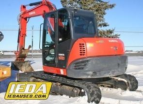 Used 2015 Kubota KX080-4 For Sale