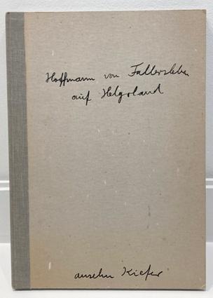Hoffmann von Fallersleben auf Helgoland
