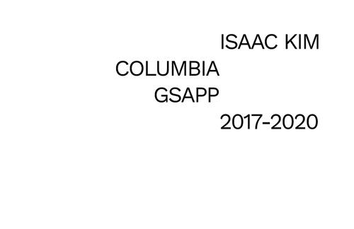 ARCH KimIsaac SP20 Portfolio.pdf_P1_cover.jpg