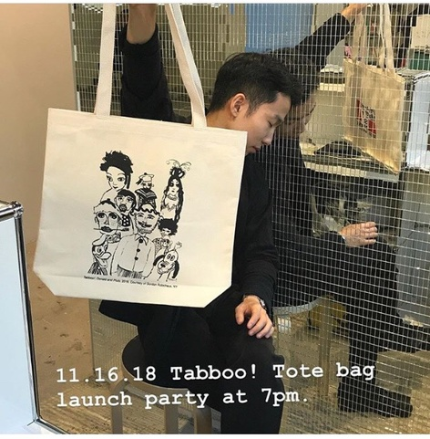 Tabboo! Tote Bag Launch Party