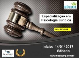Especialização em Psicologia Jurídica - Ênfase em Perícia Psicológica