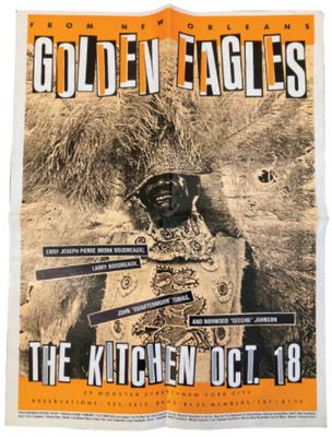 Golden Eagles, October 18, 1983 [The Kitchen Posters]
