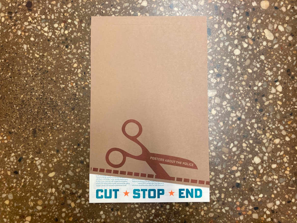 Cut/Stop/End: Posters About the Police