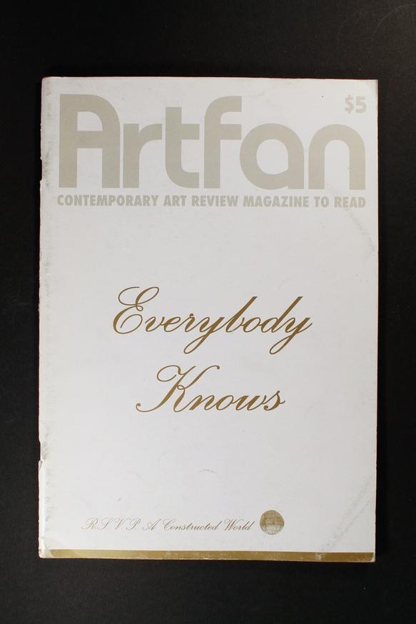 Artfan : Contemporary Art Review Magazine to Read thumbnail 2