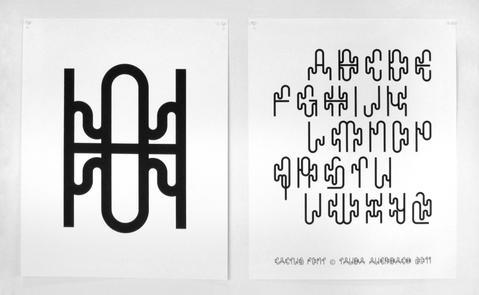 Basic Cactus Type Specimen Poster