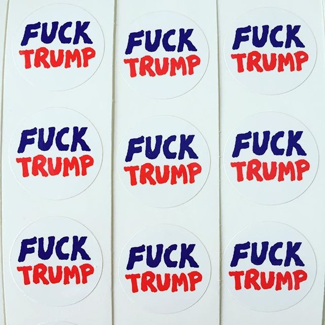 FUCK TRUMP Stickers thumbnail 3