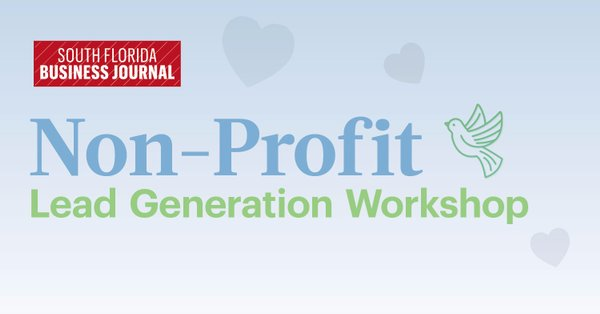 Non-Profit Lead Generation Workshop
