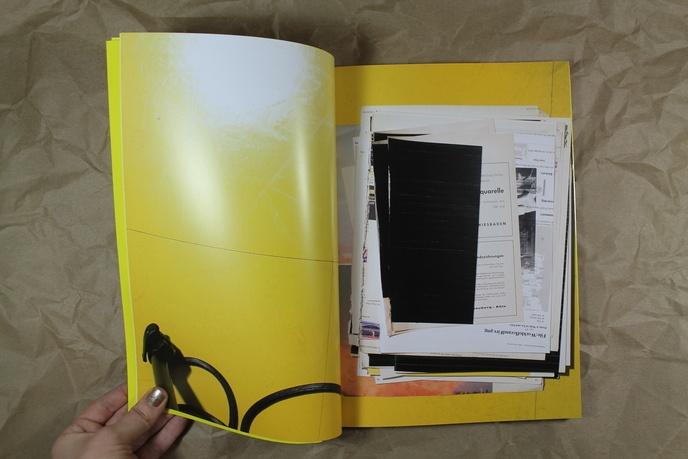 Wade Guyton : Zeichnungen für lange Bilder, Kunsthalle Zürich thumbnail 2
