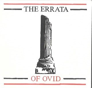 Errata of Ovid