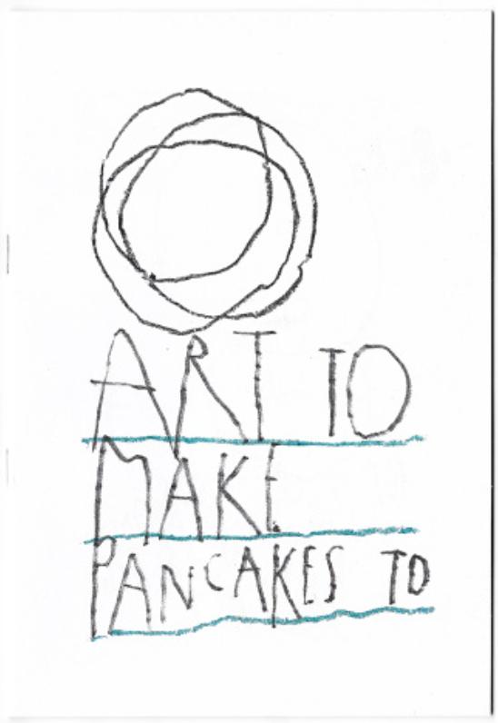 Art to make pancakes to