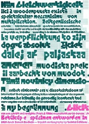 Spécimen Typographique A2 : GIKIT
