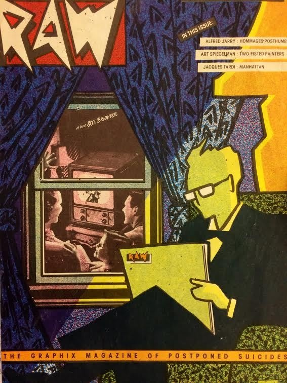raw magazine art