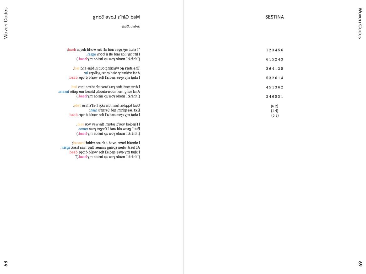 Weaving Language II: Language is Image, Paper, Code, & Cloth thumbnail 5