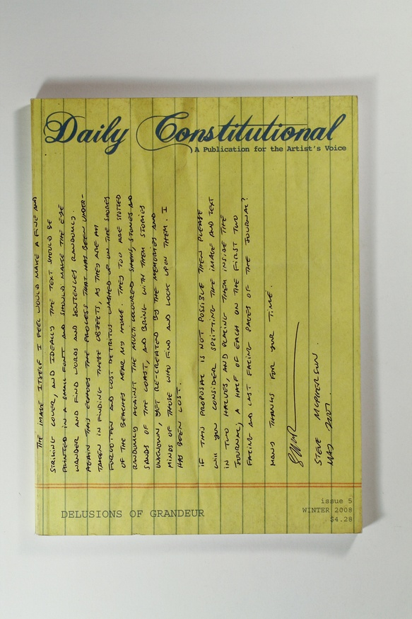 Daily Constitutional : A Publication for the Artist's Voice thumbnail 4