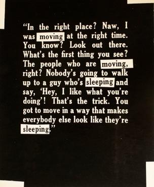 Moving - Sleeping