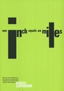 One Inch Equals Twenty-Five Miles