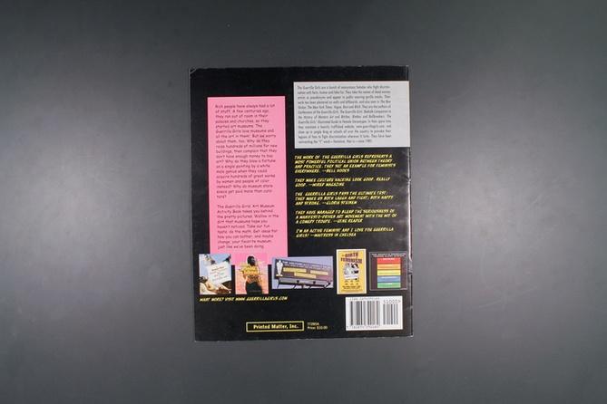 The Guerrilla Girls' Art Museum Activity Book thumbnail 2