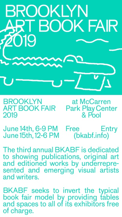 2019 Brooklyn Art Book Fair